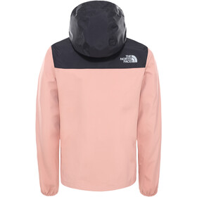 The North Face Resolve Reflective Veste Fille, pink clay/TNF black